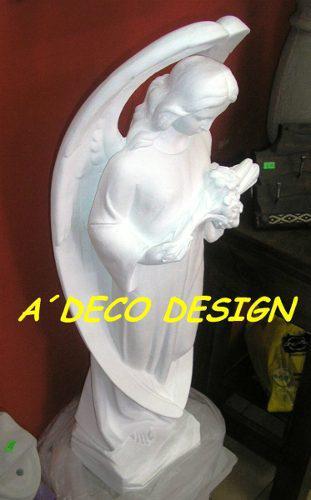 Arcangel Estatua Escultura De Cemento Para Exterior