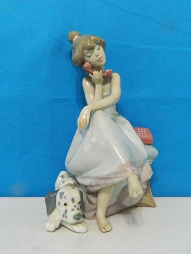 Figura De Porcelana Lladro De 20 Cm De Alto