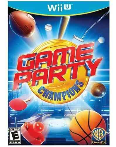 Game Party Champions Juego Fisico Wii U Nuevo Sellado
