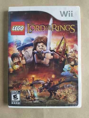 Juego Lego El Señor De Los Anillos Original Wii Y Wii U
