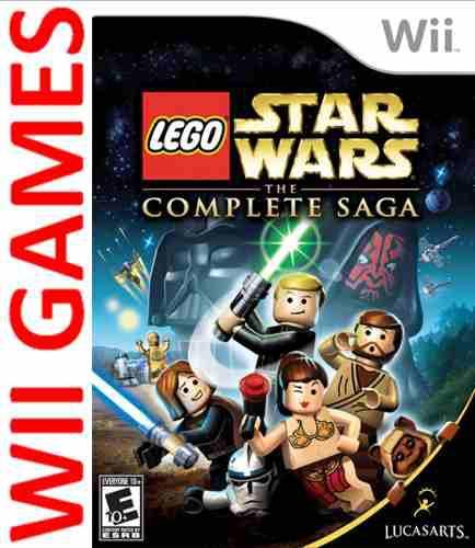 Juego Lego Star Wars The Complete Saga - Original Wii/ Wii U
