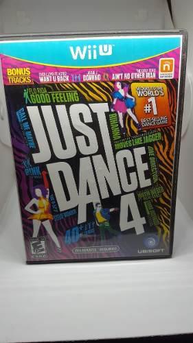 Juego Wii U Just Dance 4 Original Disco Fisico En Belgrano