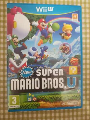 Juego Wii U Super Mario Bros
