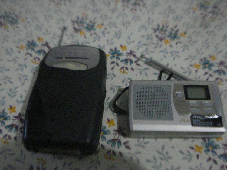 Lote De Dos Radios Philips Y Akita No Prenden