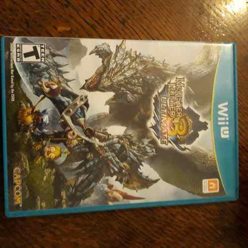 Monster Hunter 3 Ultimate - Juego Wii U - Como Nuevo!