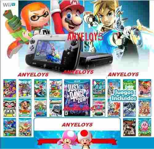 Pack Juegos Digitales Wii U Oferta, Mas De 130 Sorpresas!