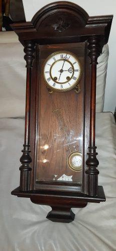 Reloj Antiguo Aleman A Pendulo