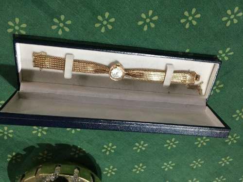 Reloj Antiguo De Oro 18k Spatium Macizo