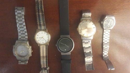 Relojes Antiguos Renis,seiko,raynond Weil,citizen,cavin K