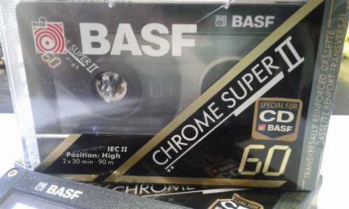 Cassette Basf C60 Super Cromo (lote X 10 Unidades)