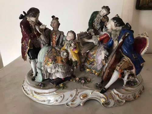 Estatua De Porcelana De Capodimonte