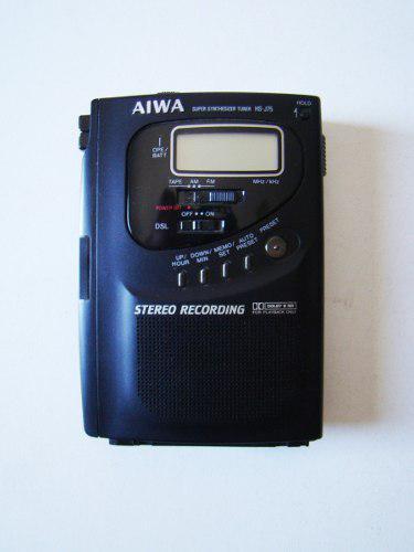 Grabador, Radio Y Reproductor De Cassette, Stereo Aiwa
