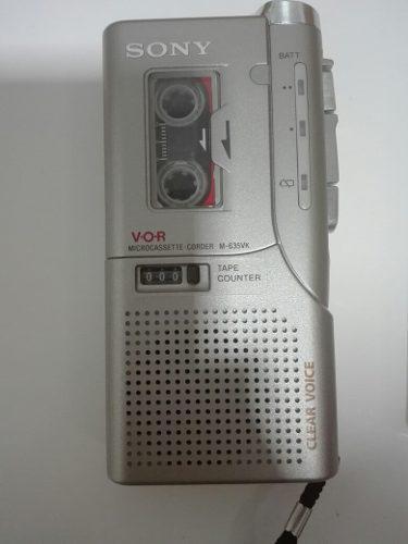 Grabadora Sony V.o.r Microcassette Modelo M635vk