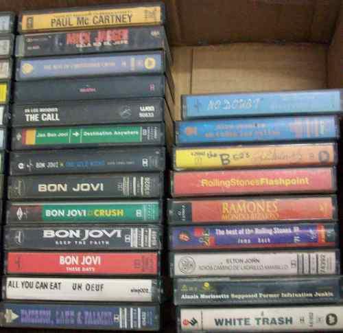 Lote 90 Cassetes Rock Varios Alboradas San Miguel Consulte
