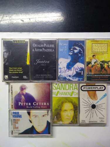 Lote Cassette Originales De Audio, Usados Impecables
