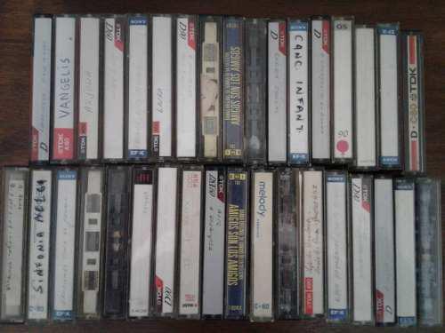 Lote De 10 Cassettes De Audio Para Regrabar O Artesanias