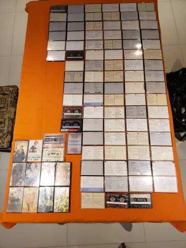 Lote De 98 Cassettes (originales Y Grabados)