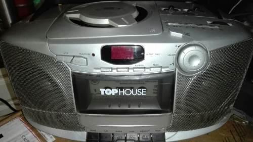 Radio Grabador Top House Am Fm Casete No Funciona Cd