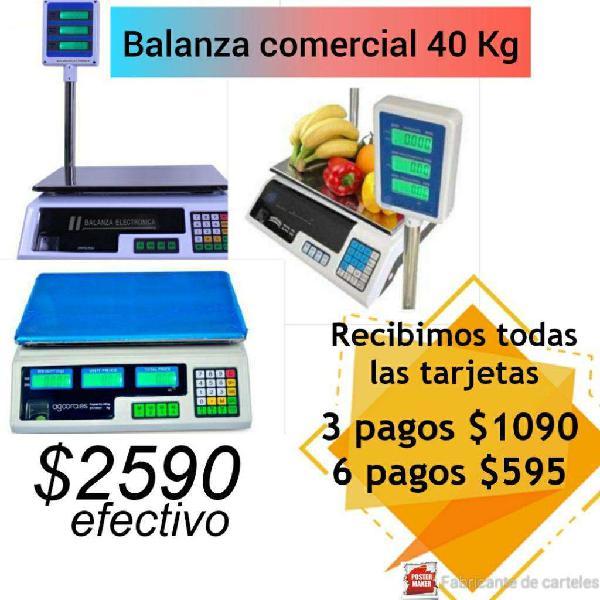Balanza Digital 40 Kg