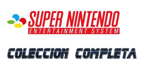 Emulador Pc Super Nintendo + 991 Juegos Colección Completa