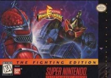 Juego Power Rangers The Fighting Edition Super Nintendo Snes