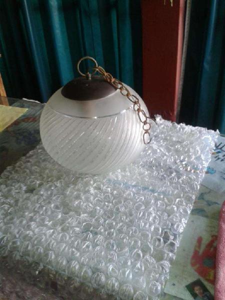 Lampara Colgante Esfera Cristal 3 Luces