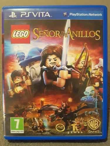 Lego: El Señor De Los Anillos - Juego Ps Vita