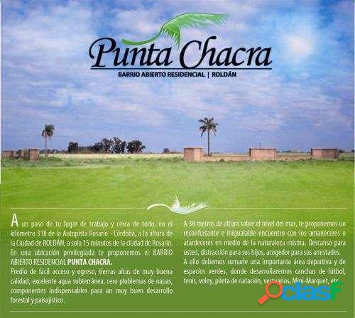 Oportunidad. Lote a la venta en PUNTA CHACRA. Weekend 1.