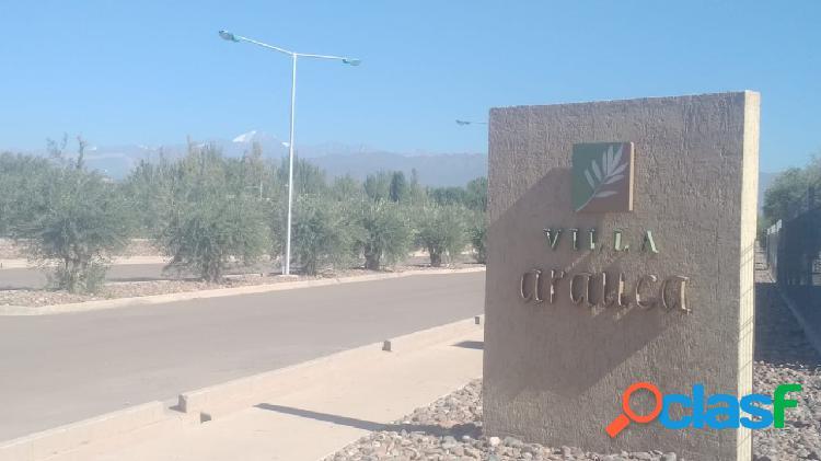 Venta de lote en Villa Arauca
