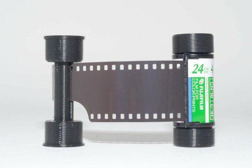 Adaptador Rollo Negativos 35mm A 120mm - 35mm - Lomografia