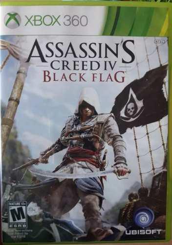 Juego Assassins Creed 4 Black Flag Xbox 360 Original Fisico
