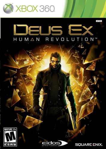 Juego Deus Ex Human Revolution Xbox 360 Ntsc