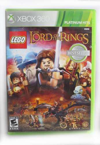 Juego El Sr. De Los Anillos - Lego Para Xbox 360 Original