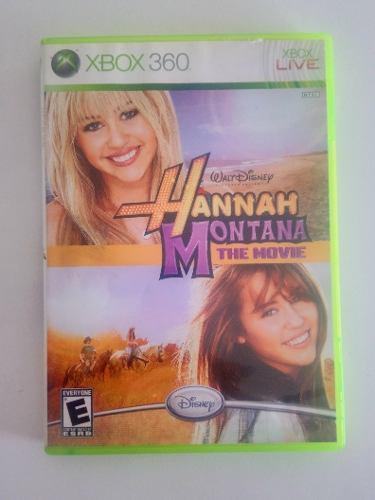 Juego Hannah Montana The Movie, Xbox 360!!