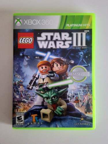 Juego Lego Star Wars 3, The Clone Wars, ¿box 360!!
