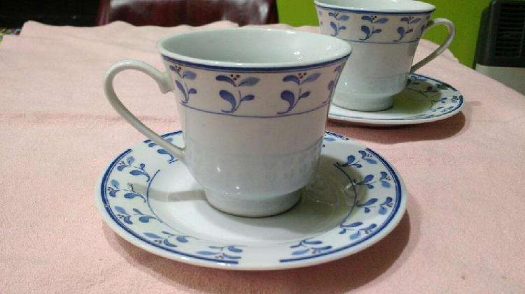 Juego de Dos Tazas de Té O Café