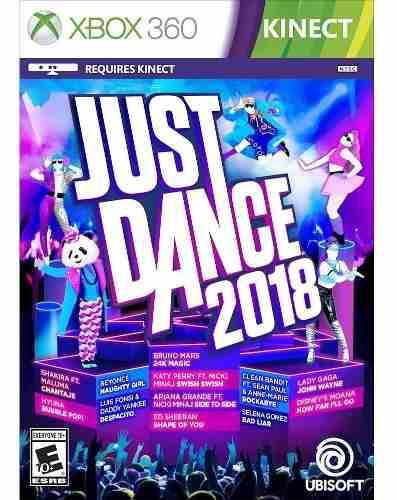 Just Dance 2018 Juego Xbox 360 Nuevo Fisico Original