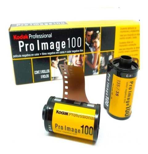 Rollo Kodak Proimage 36 Fotos 100 Asas 35mm Por Caja