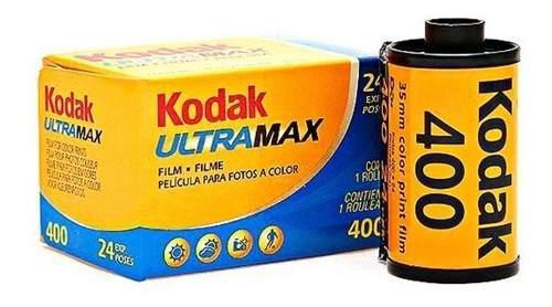 Rollo Kodak Ultramax 24 Fotos 400 Asas 35mm