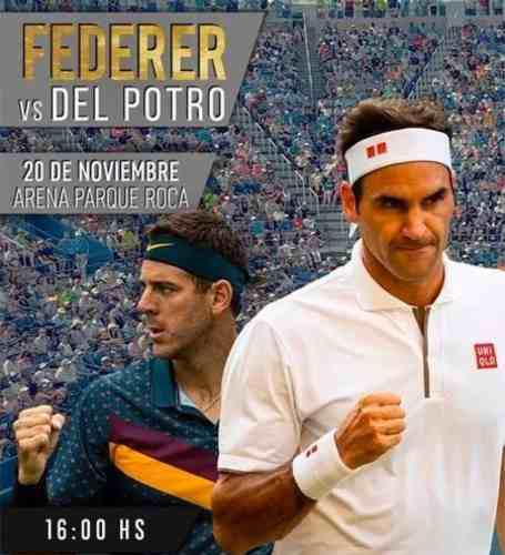 Entradas Federer Vs Del Potro 20/11 Codo N Fila 14
