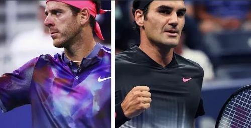 Federer Del Potro 1 Entrada Codo Alto P