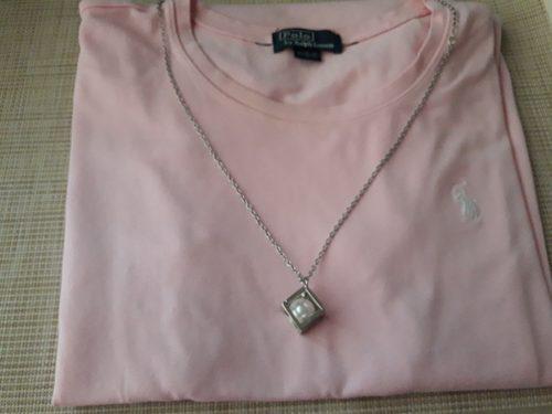 Collar De Mujer Isadora Con Dije Perla Bijouterie