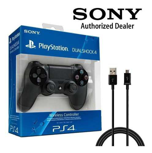 Joystick Sony Ps4 Original Playstation 4 V2 + Cable 2 Metros