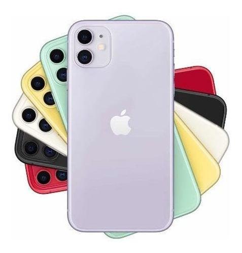 Apple iPhone 11 64gb A13 Bionic 6.1 Dual + Templado + Funda!
