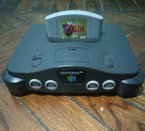 Consola Nintendo 64 - 3 Joysticks Y 4 Juegos