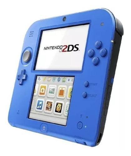 Consola Portatil Nintendo 2ds Blue Con Mario Kart 7