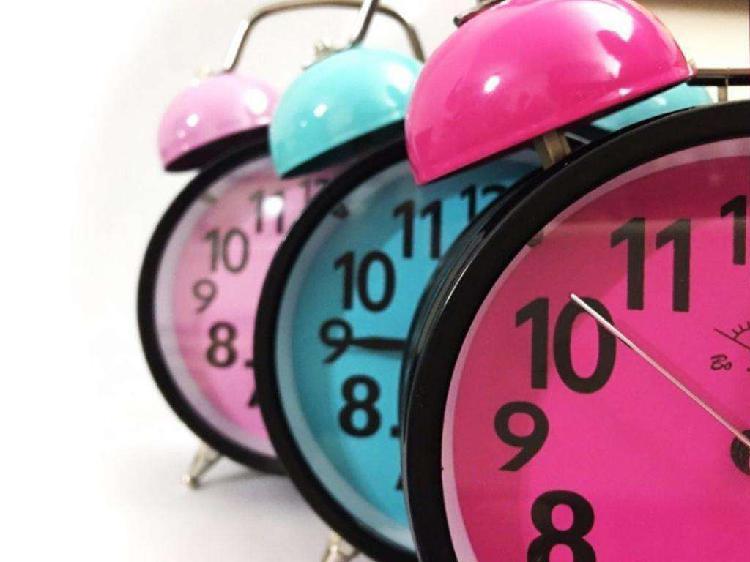 Reloj Despertador Retro de Campana Vinta