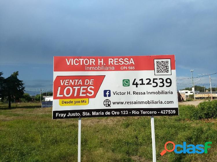 Venta de Lotes, Bº Cabero, Río Tercero