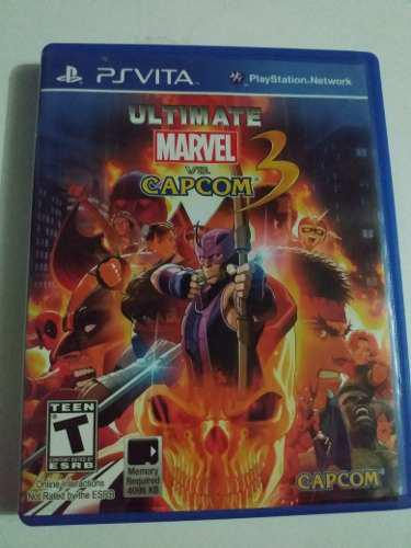 Juego Marvel Vs Capcom Ultimate 3 Ps Vita