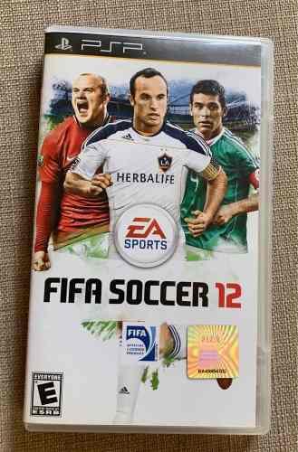 Juego Para Psp Fifa Soccer 12